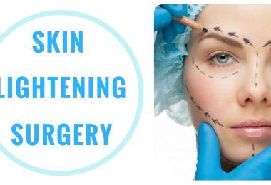 How does skin lightening surgery work